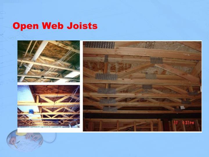 Open Web Joists