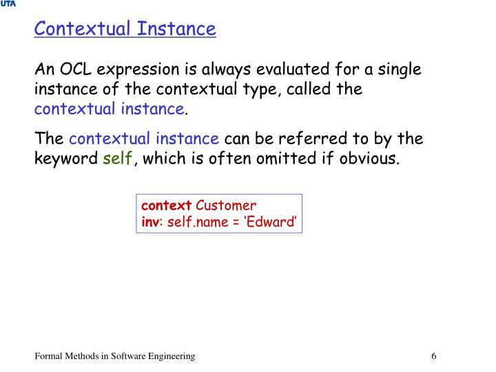 Contextual Instance