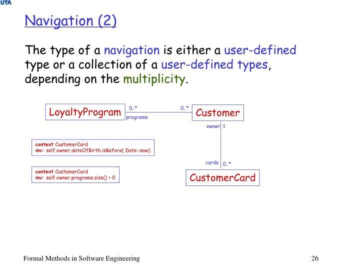 Navigation (2)