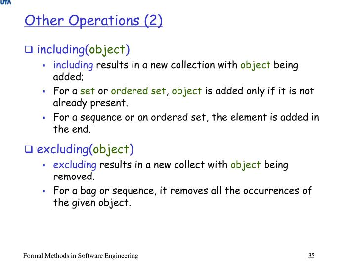 Other Operations (2)