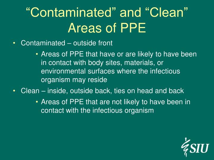 """Contaminated"" and ""Clean"""