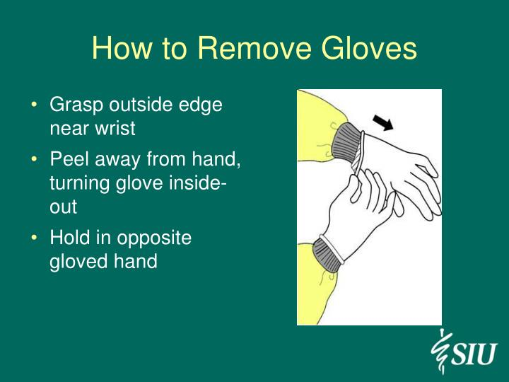How to Remove Gloves