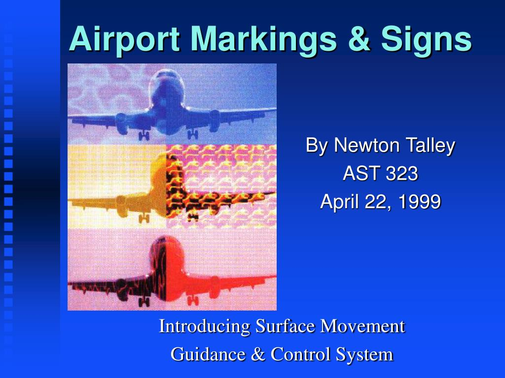 Ppt Airport Markings Amp Signs Powerpoint Presentation