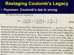 restaging coulomb s legacy3
