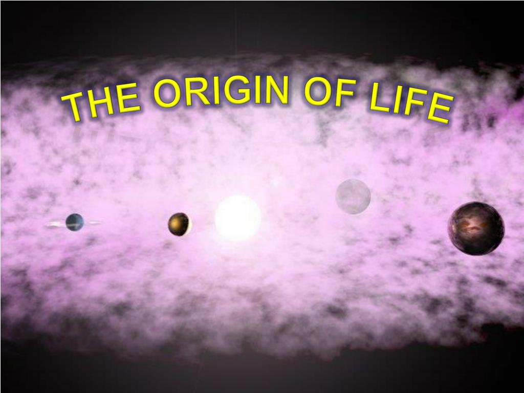 radiometric dating origin of life