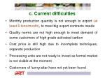 c current difficulties1