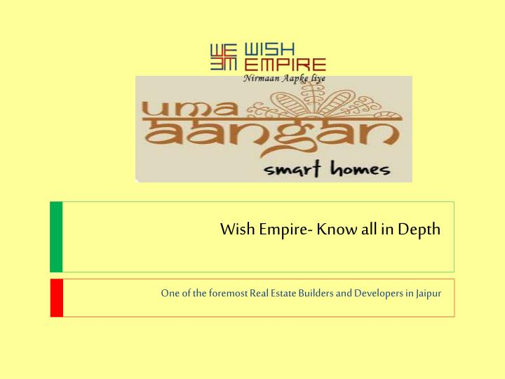 wish empire know all in depth n.