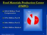 feed materials production center fmpc