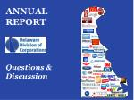 annual report questions discussion