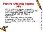 factors affecting regional hpv1