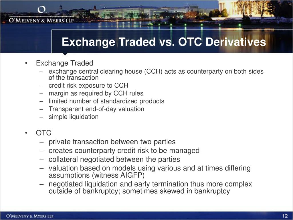 Difference Between OTC and Exchange (with Comparison Chart) - Key Differences