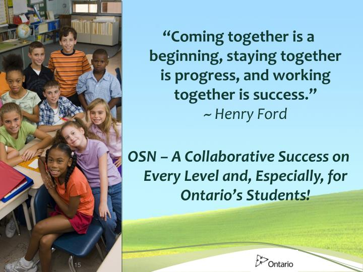 """""""Coming together is a beginning, staying together"""