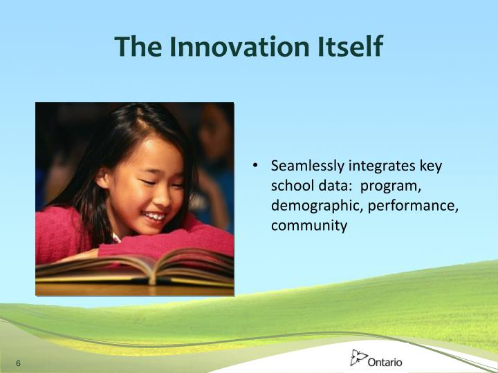The Innovation Itself