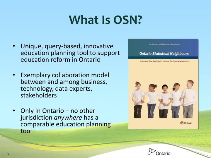 What Is OSN?
