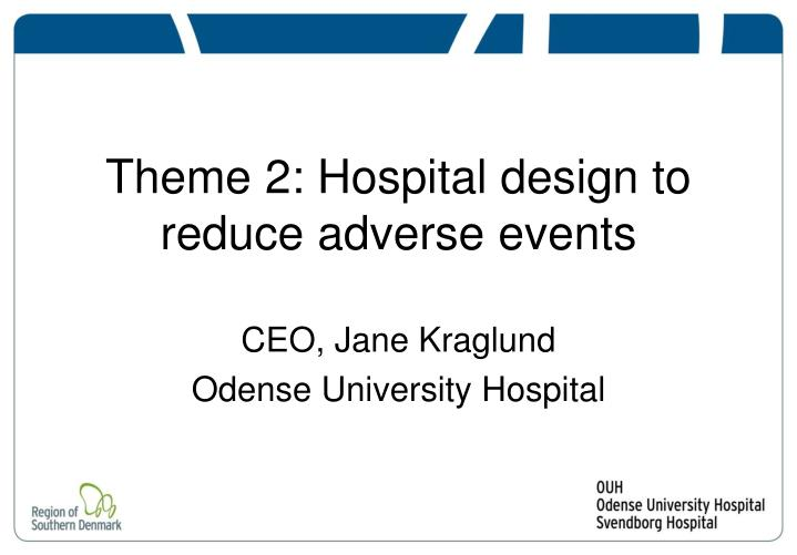 Ppt Theme 2 Hospital Design To Reduce Adverse Events