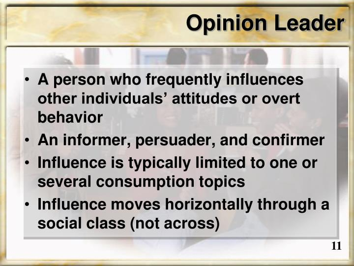 Opinion Leader