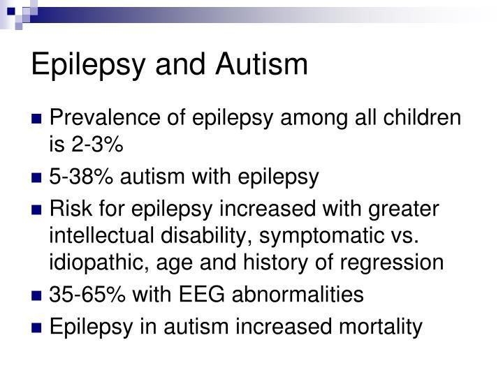 Epilepsy and Autism