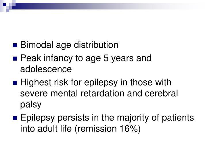 Bimodal age distribution