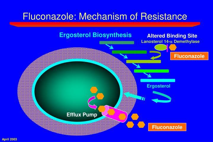 Fluconazole: Mechanism of Resistance