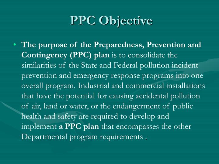 PPC Objective