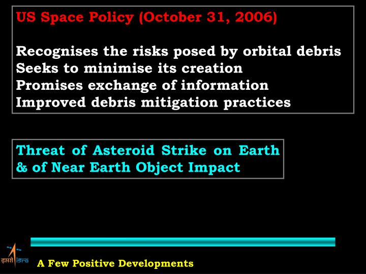 US Space Policy (October 31, 2006)