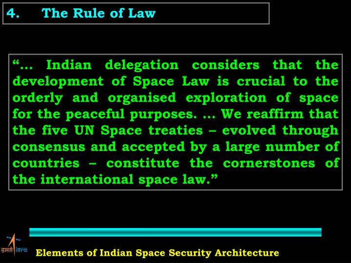 4.The Rule of Law