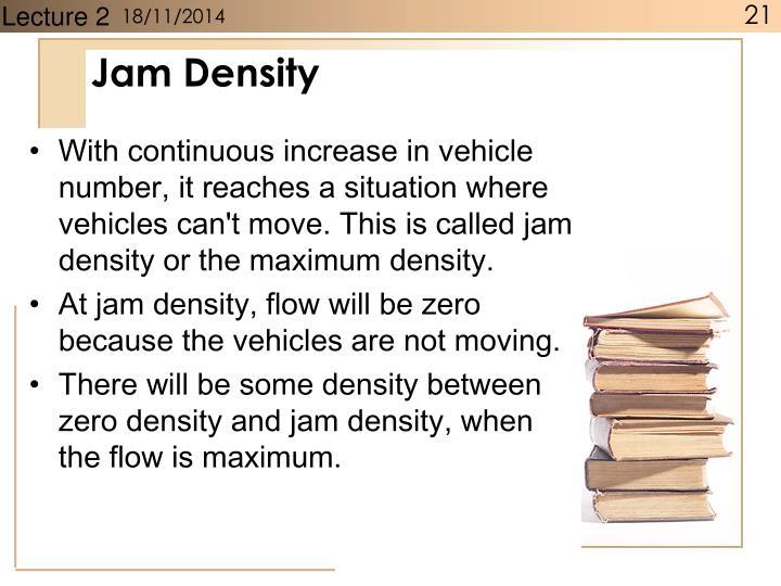 Jam Density