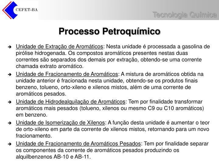 Processo Petroquímico