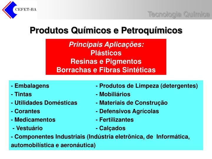 Produtos Químicos e