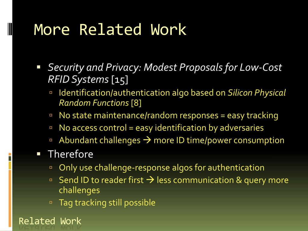 PPT - Physically Unclonable Function-based Security And