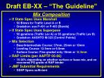 draft eb xx the guideline3