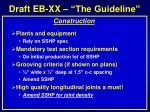 draft eb xx the guideline4