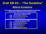 draft eb xx the guideline5