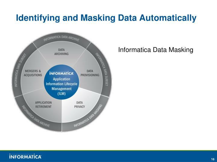 Identifying and Masking Data Automatically