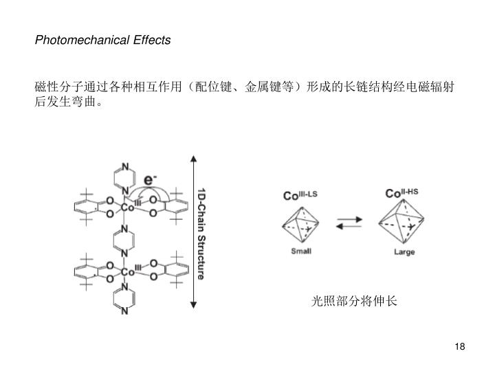 Photomechanical Effects