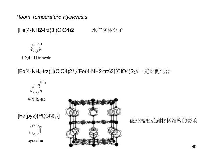 Room-Temperature Hysteresis