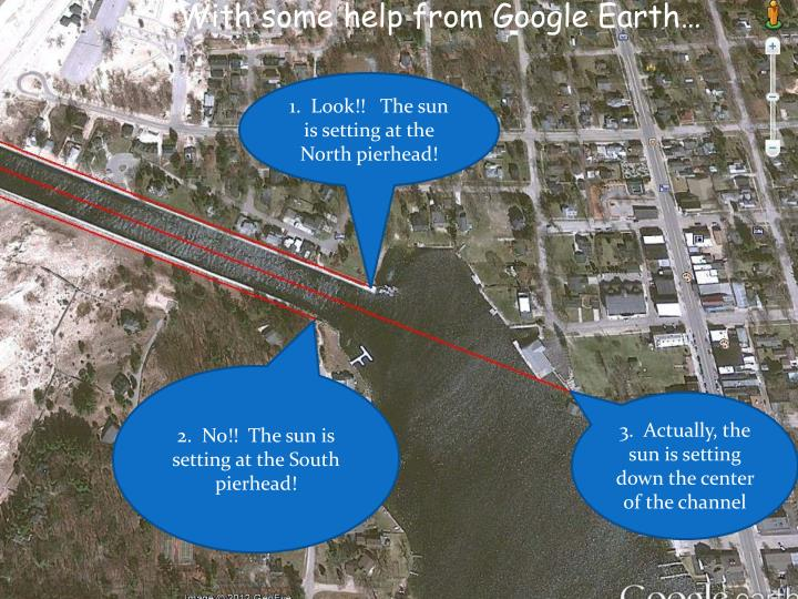 With some help from Google Earth…