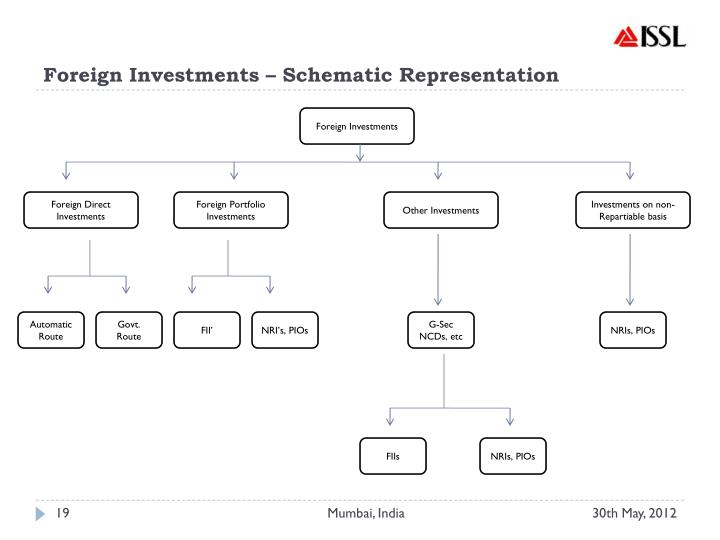 Foreign Investments – Schematic Representation