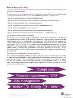 annual assurance plan
