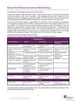 annual audit needs assessment methodology