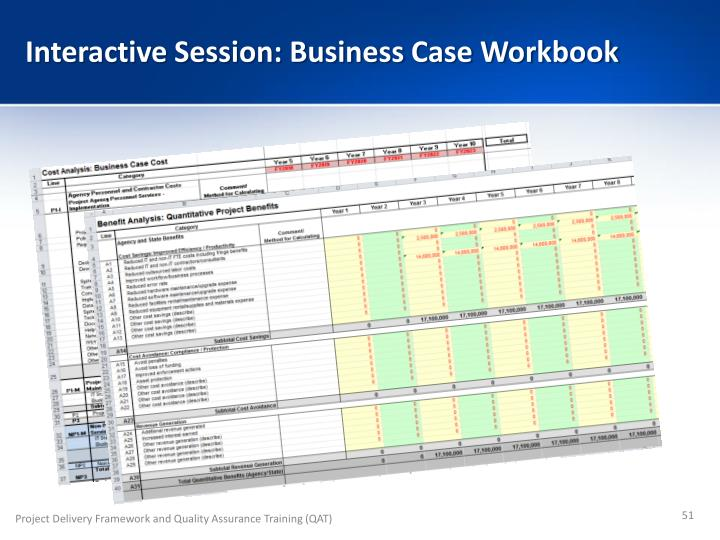 Interactive Session: Business Case Workbook