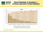 etanol hidratado vs gasolina c consumo aparente e pre os relativos1