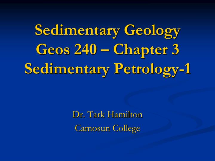 sedimentary petrology Petrology (from the greek πέτρος, pétros, rock and λόγος, lógos, subject matter, see -logy) is the branch of geology that studies rocks and the conditions under which they form petrology has three subdivisions: igneous, metamorphic, and sedimentary petrology.