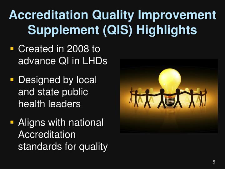 Accreditation Quality Improvement