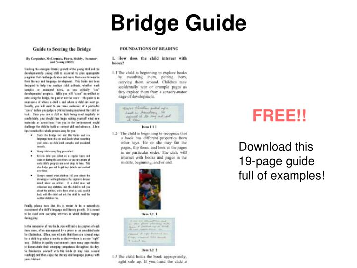Bridge Guide