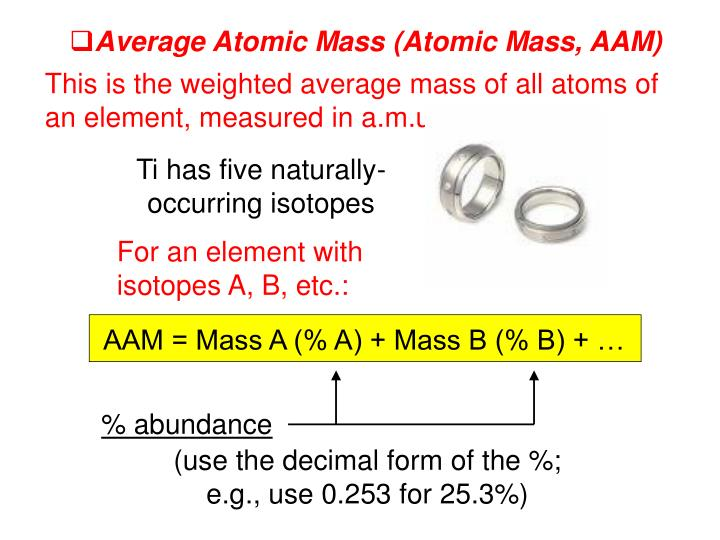 Ti has five naturally-occurring isotopes