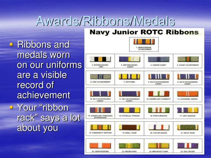 Awards/Ribbons/Medals