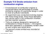 example vi 9 smoke emission from combustion engines