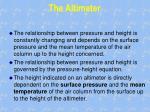 the altimeter1