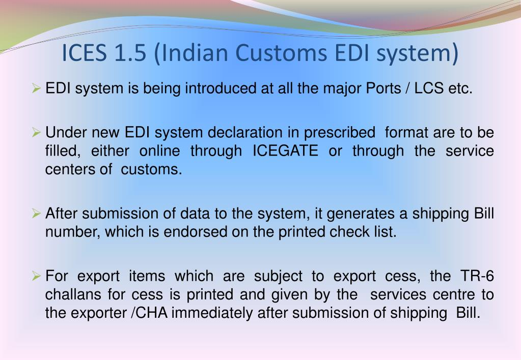 PPT - THE COMMISSIONER OF CUSTOMS, PATNA PowerPoint
